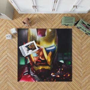Iron Man Movie Marvel End game Bedroom Living Room Floor Carpet Rug 1