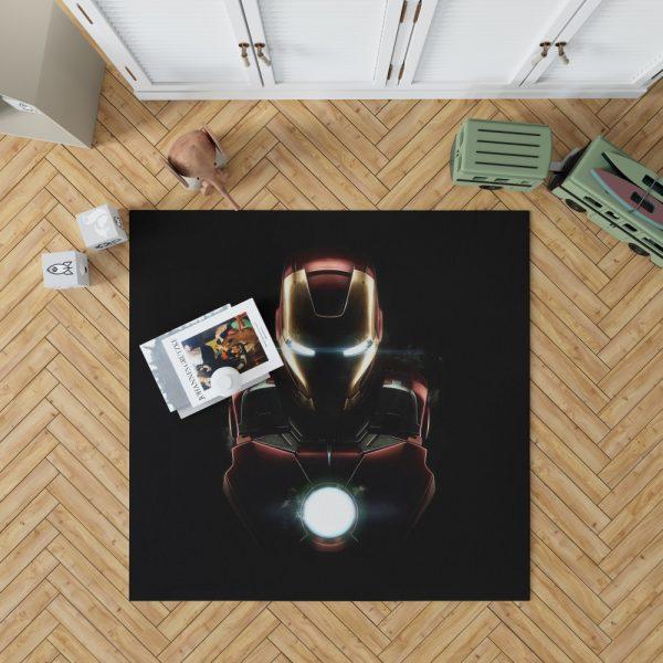 Iron Man Movie Marvel MCU Super Hero SHIELD Bedroom Living Room Floor Carpet Rug 1