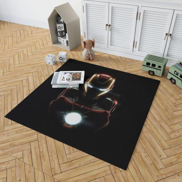 Iron Man Movie Marvel MCU Super Hero SHIELD Bedroom Living Room Floor Carpet Rug 2