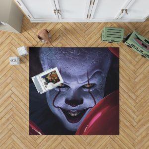 It 2017 Movie Creepy Pennywise Bedroom Living Room Floor Carpet Rug 1