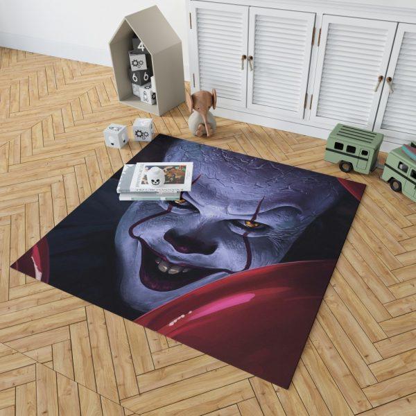 It 2017 Movie Creepy Pennywise Bedroom Living Room Floor Carpet Rug 2