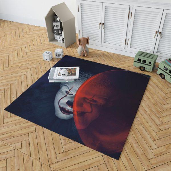 It Movie Clown Bill Skarsgard Bedroom Living Room Floor Carpet Rug 2