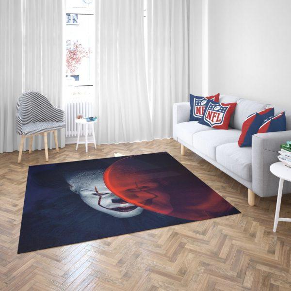 It Movie Clown Bill Skarsgard Bedroom Living Room Floor Carpet Rug 3