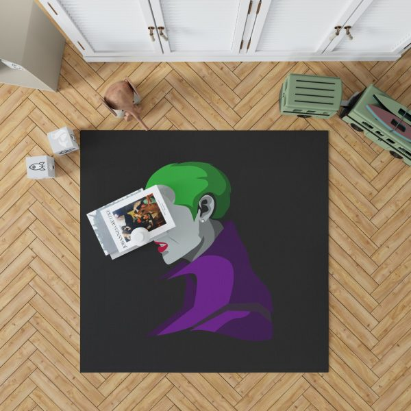 Jared Leto in Suicide Squad Movie Bedroom Living Room Floor Carpet Rug 1