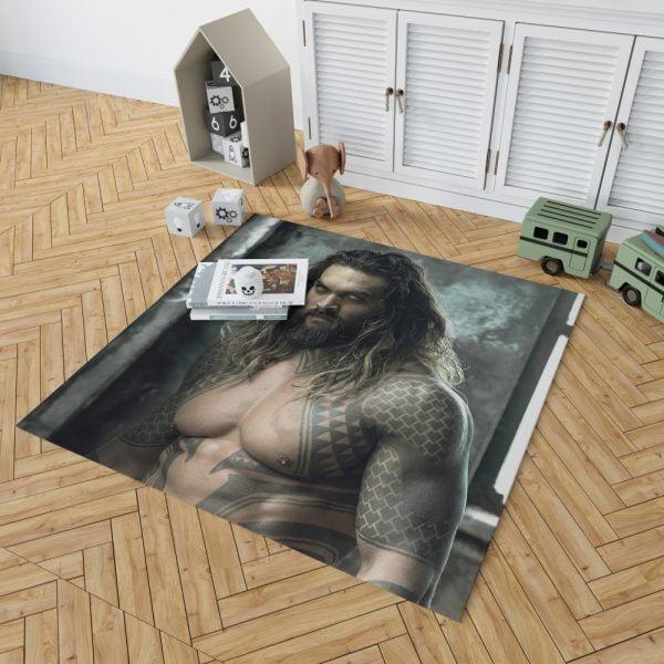 Jason Momoa Aquaman Justice League Bedroom Living Room Floor Carpet Rug 2