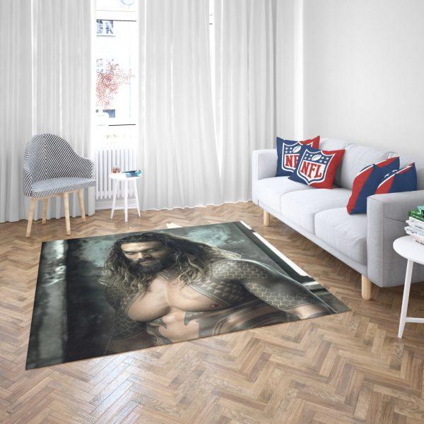 Jason Momoa Aquaman Justice League Bedroom Living Room Floor Carpet Rug 3