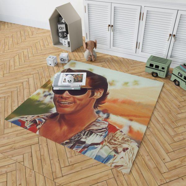 Jim Carrey in Ace Ventura Pet Detective Movie Bedroom Living Room Floor Carpet Rug 2