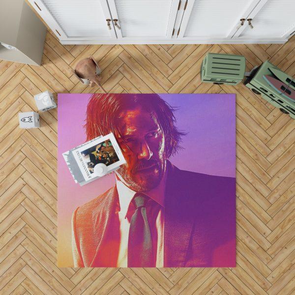 John Wick 3 Parabellum Movie Keanu Reeves Bedroom Living Room Floor Carpet Rug 1
