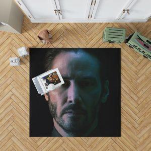 John Wick Chapter 3 Movie Keanu Reeves Bedroom Living Room Floor Carpet Rug 1