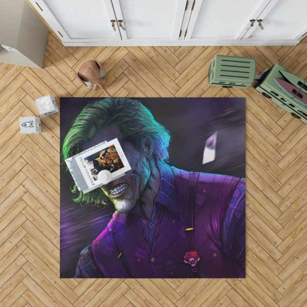 Joker Movie DC Comics Bedroom Living Room Floor Carpet Rug 1