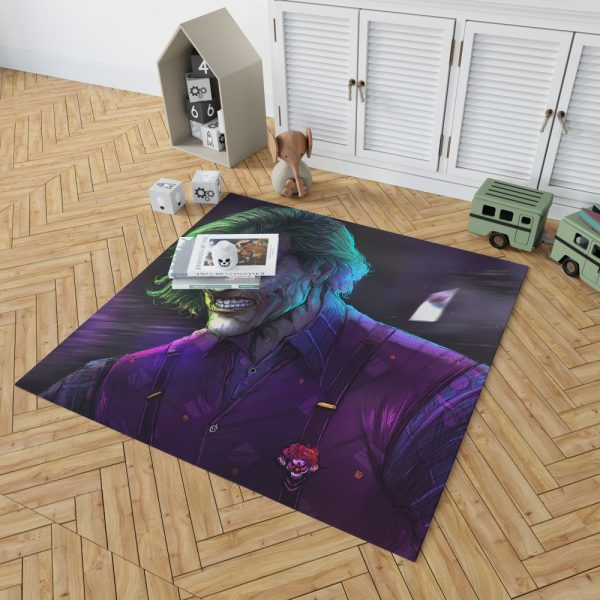 Joker Movie DC Comics Bedroom Living Room Floor Carpet Rug 2