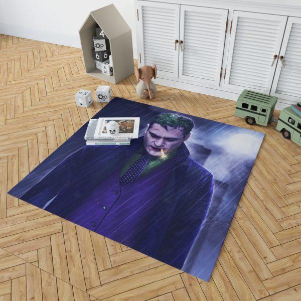 Joker Movie Joaquin Phoenix Bedroom Living Room Floor Carpet Rug 2