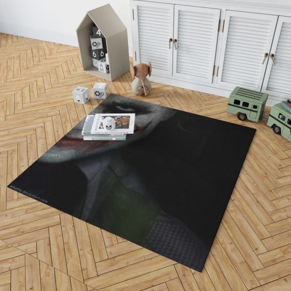 Joker in The Dark Knight Batman Movie Bedroom Living Room Floor Carpet Rug 2
