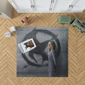 Julianne Moore in The Hunger Games Mockingjay Part 2 Movie Bedroom Living Room Floor Carpet Rug 1