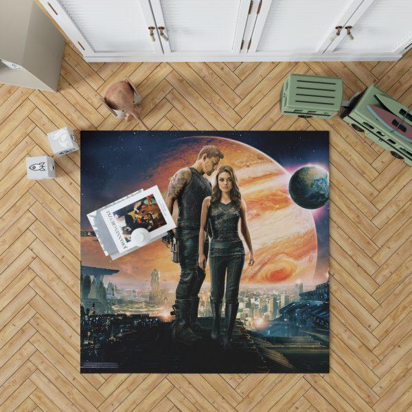 Jupiter Ascending Movie Mila Kunis Channing Tatum Bedroom Living Room Floor Carpet Rug 1