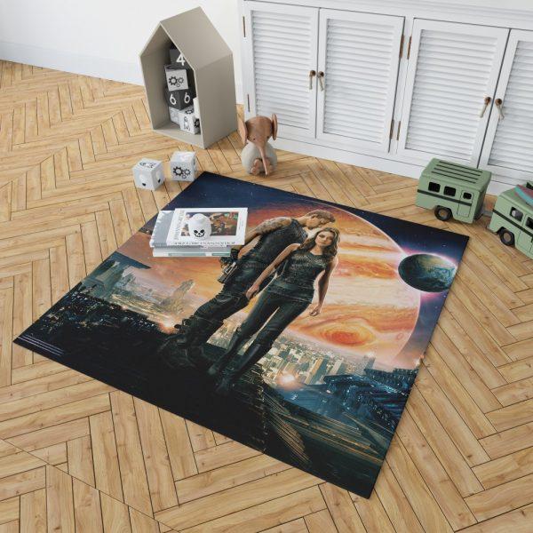 Jupiter Ascending Movie Mila Kunis Channing Tatum Bedroom Living Room Floor Carpet Rug 2