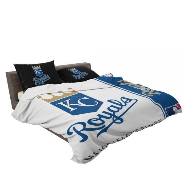 Kansas City Royals MLB Baseball American League Bedding Set 3