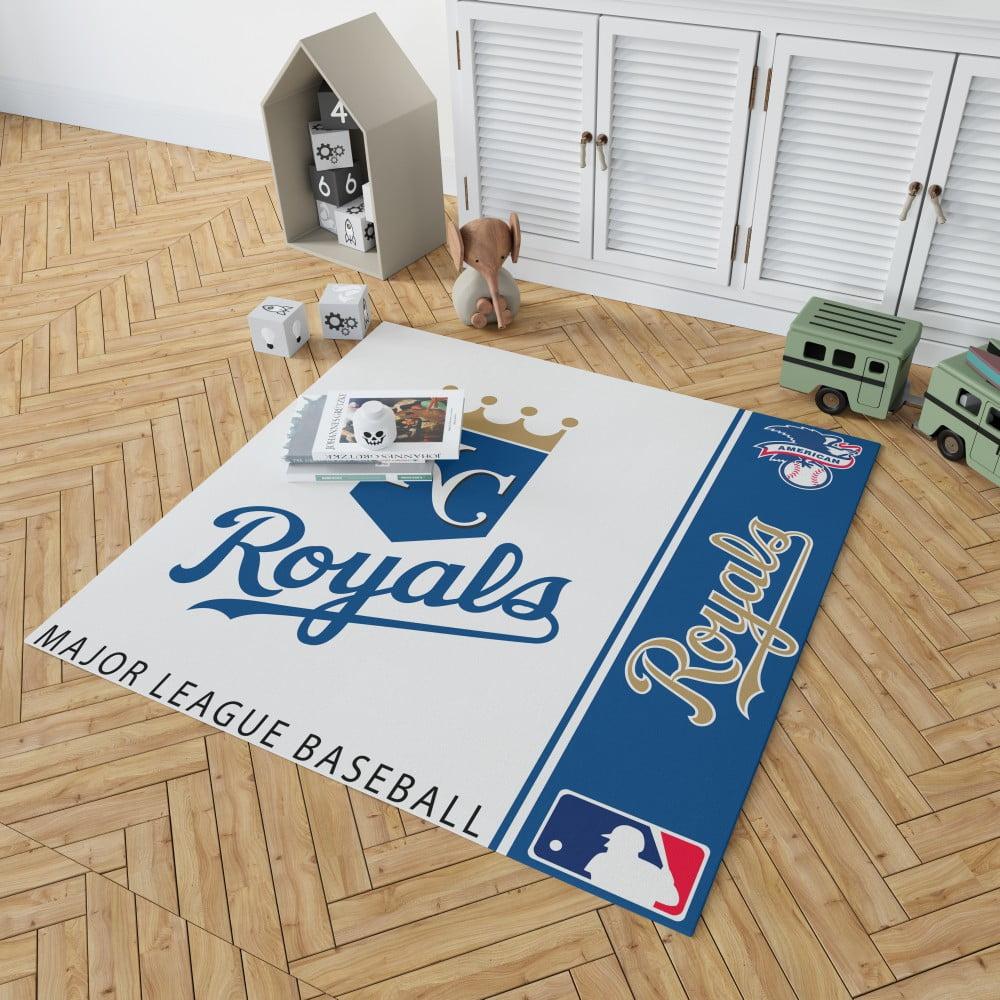 Baseball Floor Mat Kansas City Royals