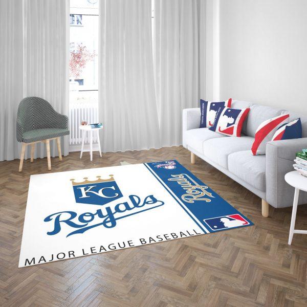 Kansas City Royals MLB Baseball American League Floor Carpet Rug Mat 3