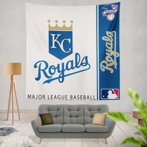 Kansas City Royals MLB Baseball American League Wall Hanging Tapestry