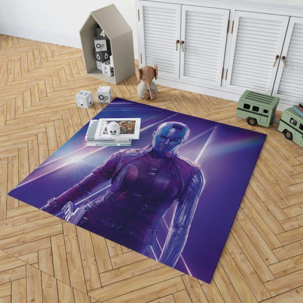 Karen Gillan Nebula Avengers Bedroom Living Room Floor Carpet Rug 2