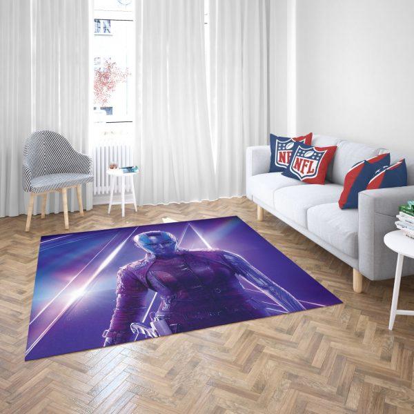 Karen Gillan Nebula Avengers Bedroom Living Room Floor Carpet Rug 3