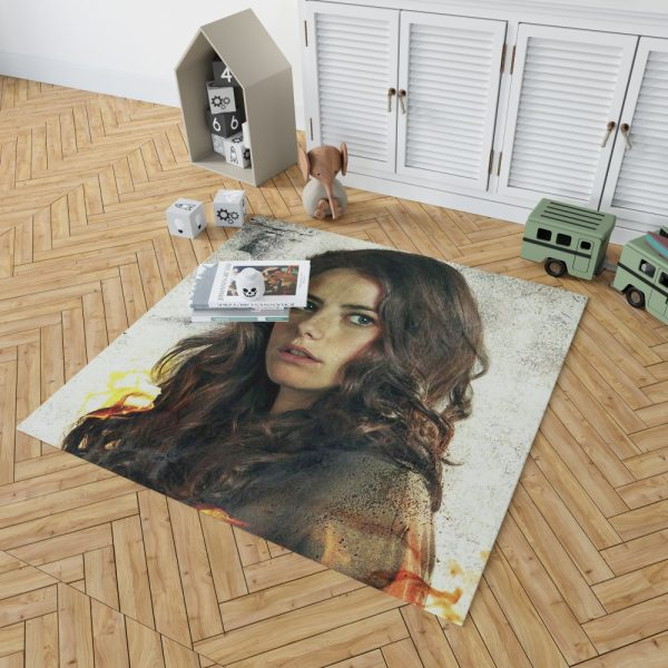 Kaya Scodelario in Maze Runner The Scorch Trials Movie Bedroom Living Room Floor Carpet Rug 2