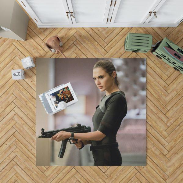 Keeping Up with the Joneses Movie Gal Gadot Bedroom Living Room Floor Carpet Rug 1