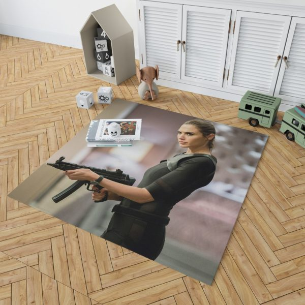 Keeping Up with the Joneses Movie Gal Gadot Bedroom Living Room Floor Carpet Rug 2