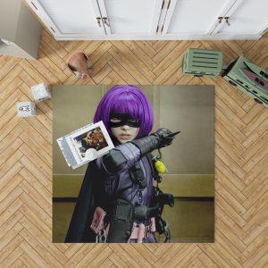 Kick-Ass Movie Chloe Grace Moretz Hit-Girl Thriller Bedroom Living Room Floor Carpet Rug 1
