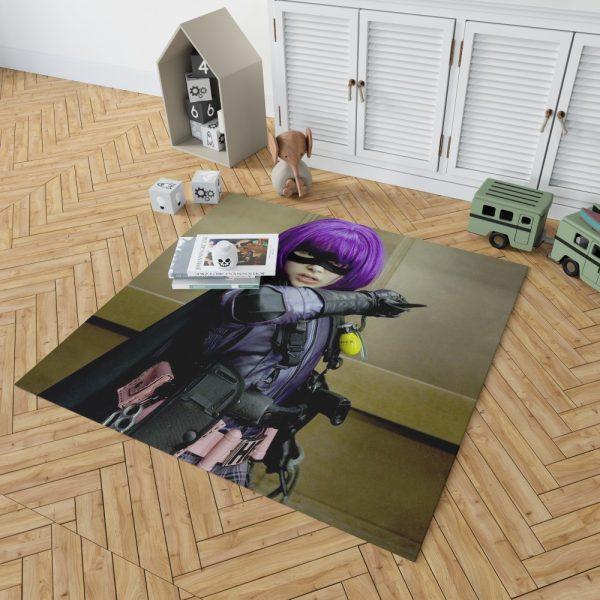 Kick-Ass Movie Chloe Grace Moretz Hit-Girl Thriller Bedroom Living Room Floor Carpet Rug 2