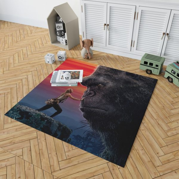 Kong Skull Island Brie Larson Bedroom Living Room Floor Carpet Rug 2