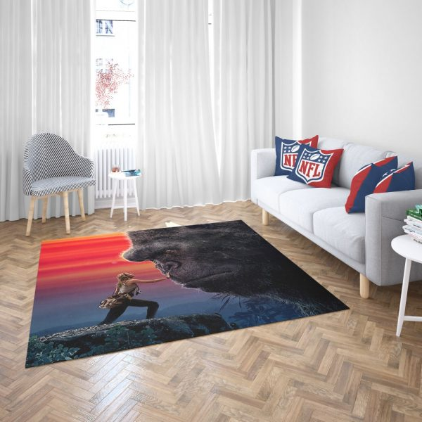 Kong Skull Island Brie Larson Bedroom Living Room Floor Carpet Rug 3