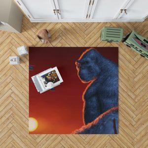 Kong Skull Island Movie Bedroom Living Room Floor Carpet Rug 1