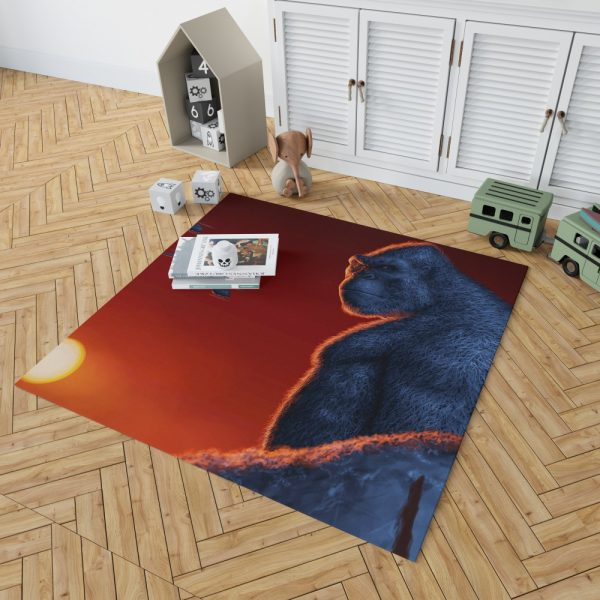 Kong Skull Island Movie Bedroom Living Room Floor Carpet Rug 2