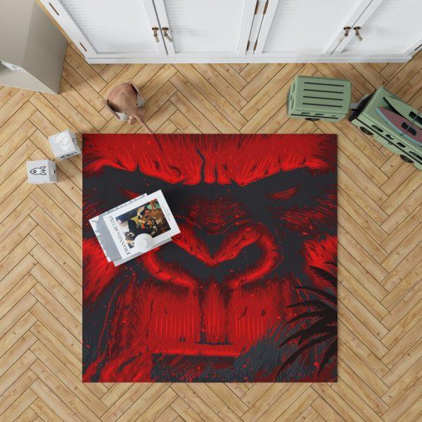 Kong Skull Island Movie Sci-fi Bedroom Living Room Floor Carpet Rug 1