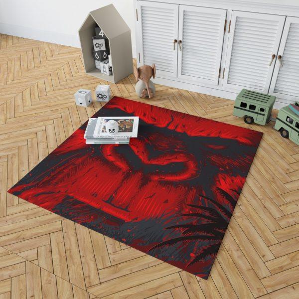 Kong Skull Island Movie Sci-fi Bedroom Living Room Floor Carpet Rug 2
