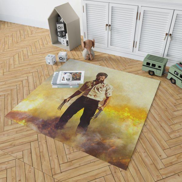 Logan Hugh Jackman Bedroom Living Room Floor Carpet Rug 2