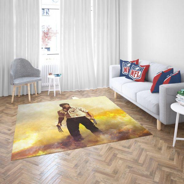 Logan Hugh Jackman Bedroom Living Room Floor Carpet Rug 3