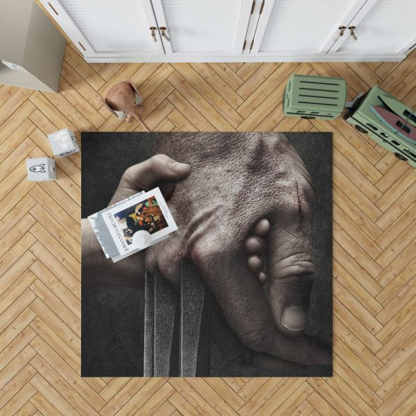 Logan Movie Hugh Jackman Laura Kinney Marvel Comics Bedroom Living Room Floor Carpet Rug 1