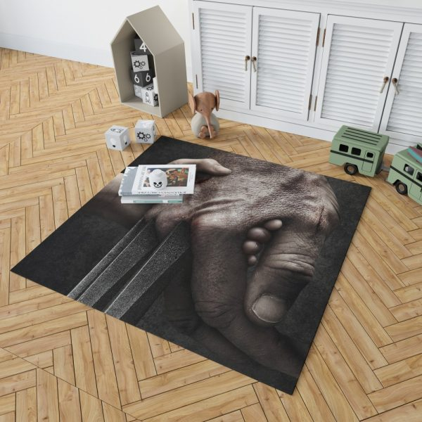 Logan Movie Hugh Jackman Laura Kinney Marvel Comics Bedroom Living Room Floor Carpet Rug 2