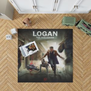 Logan Movie Wolverine X-23 Bedroom Living Room Floor Carpet Rug 1