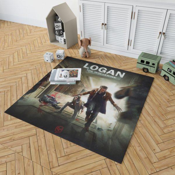 Logan Movie Wolverine X-23 Bedroom Living Room Floor Carpet Rug 2