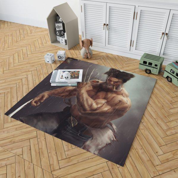 Logan Wolwerine Bedroom Living Room Floor Carpet Rug 2
