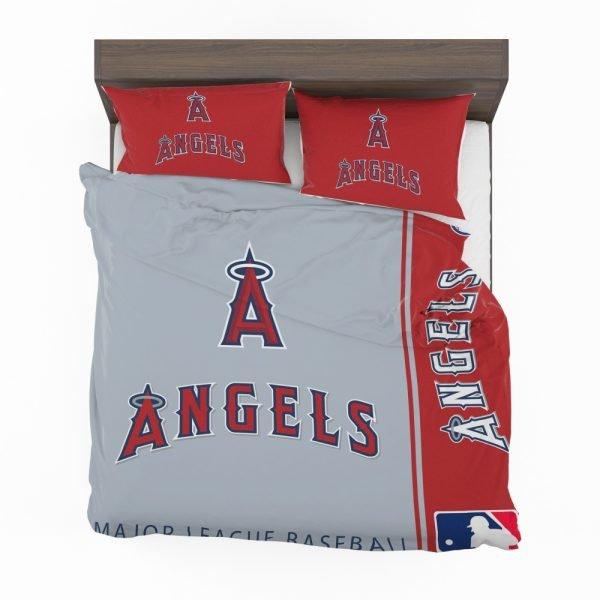 Los Angeles Angels MLB Baseball American League Bedding Set 2