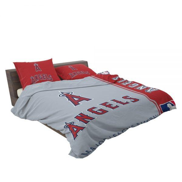 Los Angeles Angels MLB Baseball American League Bedding Set 3