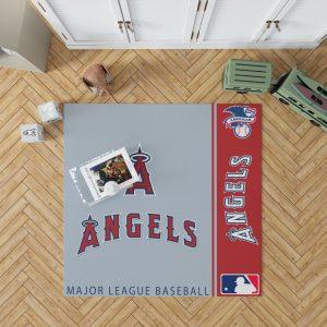 Los Angeles Angels MLB Baseball American League Floor Carpet Rug Mat 1