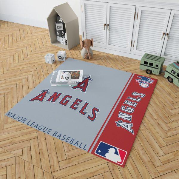 Los Angeles Angels MLB Baseball American League Floor Carpet Rug Mat 2