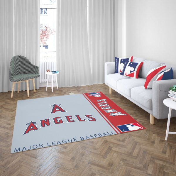 Los Angeles Angels MLB Baseball American League Floor Carpet Rug Mat 3