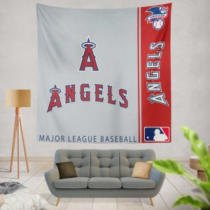 Los Angeles Angels MLB Baseball American League Wall Hanging Tapestry
